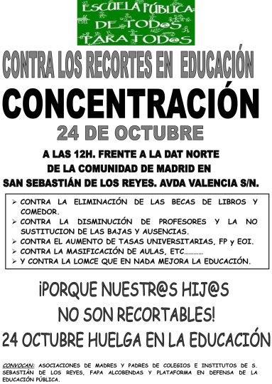 CARTEL CONCENTRACIÓN DÍA 24